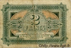 2 Francs FRANCE régionalisme et divers BORDEAUX 1917 JP.030.17 TB