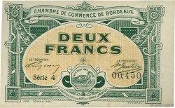 2 Francs FRANCE régionalisme et divers BORDEAUX 1917 JP.030.23 SPL à NEUF