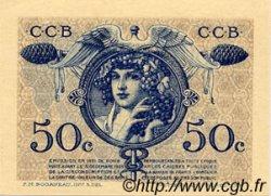 50 Centimes FRANCE régionalisme et divers BORDEAUX 1921 JP.030.28 SPL à NEUF