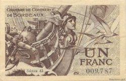 1 Franc FRANCE régionalisme et divers BORDEAUX 1921 JP.030.30 SPL à NEUF