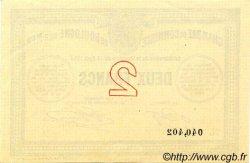 2 Francs FRANCE régionalisme et divers BOULOGNE-SUR-MER 1914 JP.031.07 SPL à NEUF