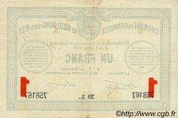 1 Franc FRANCE régionalisme et divers Boulogne-Sur-Mer 1914 JP.031.15 TTB à SUP