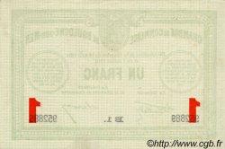 1 Franc FRANCE régionalisme et divers Boulogne-Sur-Mer 1914 JP.031.19 TTB à SUP