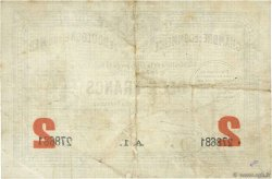 2 Francs FRANCE régionalisme et divers BOULOGNE-SUR-MER 1914 JP.031.21 TB
