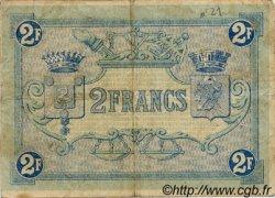 2 Francs FRANCE régionalisme et divers Boulogne-Sur-Mer 1920 JP.031.28 TB