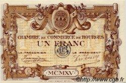 50 Centimes FRANCE régionalisme et divers BOURGES 1915 JP.032.05 SPL à NEUF