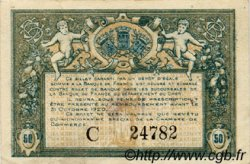 50 Centimes FRANCE régionalisme et divers Bourges 1915 JP.032.05 TTB à SUP