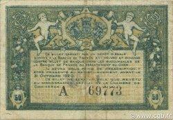 50 Centimes FRANCE régionalisme et divers Bourges 1915 JP.032.05 TB