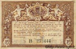 1 Franc FRANCE régionalisme et divers Bourges 1915 JP.032.07 TTB à SUP