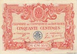 50 Centimes FRANCE régionalisme et divers BOURGES 1915 JP.032.08 SPL à NEUF