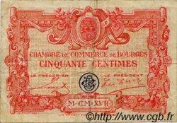 50 Centimes FRANCE régionalisme et divers Bourges 1915 JP.032.08 TB