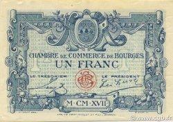 1 Franc FRANCE régionalisme et divers BOURGES 1917 JP.032.09 SPL à NEUF