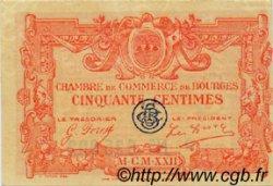 50 Centimes FRANCE régionalisme et divers BOURGES 1922 JP.032.12 SPL à NEUF