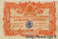 50 Centimes FRANCE régionalisme et divers BOURGES 1922 JP.032.12 TB