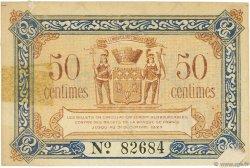 50 Centimes FRANCE régionalisme et divers BRIVE 1918 JP.033.01 TTB à SUP