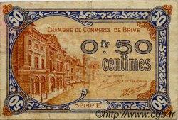 50 Centimes FRANCE régionalisme et divers Brive 1918 JP.033.01 TB