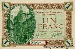 1 Franc FRANCE régionalisme et divers BRIVE 1918 JP.033.02 SPL à NEUF