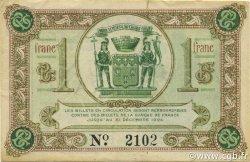 1 Franc FRANCE régionalisme et divers BRIVE 1918 JP.033.02 TTB à SUP