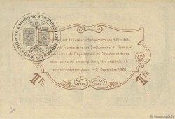 1 Franc FRANCE régionalisme et divers Caen et Honfleur 1920 JP.034.03 TTB à SUP