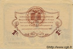 1 Franc FRANCE régionalisme et divers CAEN ET HONFLEUR 1918 JP.034.06 TTB à SUP