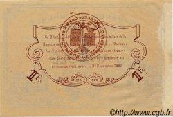 1 Franc FRANCE régionalisme et divers Caen et Honfleur 1918 JP.034.07 TTB à SUP