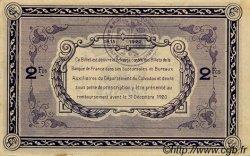 2 Francs FRANCE régionalisme et divers CAEN ET HONFLEUR 1918 JP.034.10 TTB à SUP