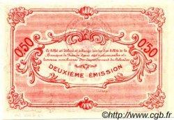 50 Centimes FRANCE régionalisme et divers CAEN ET HONFLEUR 1918 JP.034.12 SPL à NEUF
