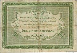 1 Franc FRANCE régionalisme et divers Caen et Honfleur 1918 JP.034.14 TB
