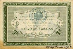 1 Franc FRANCE régionalisme et divers Caen et Honfleur 1920 JP.034.15 TTB à SUP