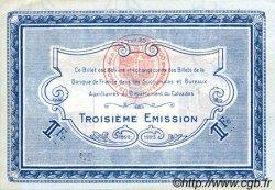 1 Franc FRANCE régionalisme et divers CAEN ET HONFLEUR 1918 JP.034.18 TTB à SUP