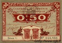 50 Centimes FRANCE régionalisme et divers CAEN ET HONFLEUR 1918 JP.034.20 SPL à NEUF