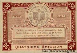 50 Centimes FRANCE régionalisme et divers CAEN ET HONFLEUR 1918 JP.034.21 SPL à NEUF