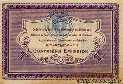 1 Franc FRANCE régionalisme et divers Caen et Honfleur 1918 JP.034.23 TTB à SUP