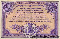 50 Centimes FRANCE régionalisme et divers Cahors 1915 JP.035.01 TTB à SUP