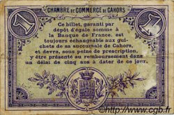 1 Franc FRANCE régionalisme et divers Cahors 1915 JP.035.02 TB