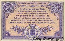 50 Centimes FRANCE régionalisme et divers Cahors 1915 JP.035.09 TTB à SUP