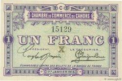 1 Franc FRANCE régionalisme et divers Cahors 1915 JP.035.11 SPL à NEUF