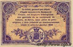 50 Centimes FRANCE régionalisme et divers CAHORS 1915 JP.035.13 SPL à NEUF