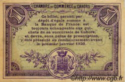 1 Franc FRANCE régionalisme et divers Cahors 1915 JP.035.14 TTB à SUP