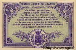 1 Franc FRANCE régionalisme et divers CAHORS 1915 JP.035.15 SPL à NEUF