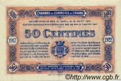 50 Centimes FRANCE régionalisme et divers Cahors 1917 JP.035.17 SPL à NEUF
