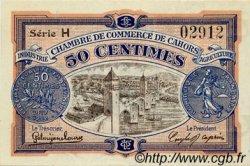 50 Centimes FRANCE régionalisme et divers CAHORS 1917 JP.035.17 TTB à SUP