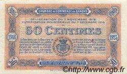 50 Centimes FRANCE régionalisme et divers Cahors 1918 JP.035.21 TTB à SUP