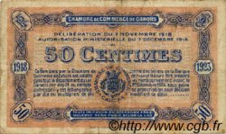 50 Centimes FRANCE régionalisme et divers CAHORS 1918 JP.035.21 TB