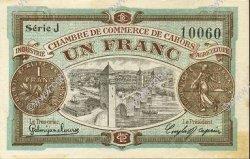 1 Franc FRANCE régionalisme et divers CAHORS 1918 JP.035.22 SPL à NEUF