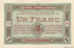 50 Centimes FRANCE régionalisme et divers CAHORS 1919 JP.035.23 SPL à NEUF