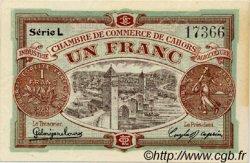 1 Franc FRANCE régionalisme et divers Cahors 1919 JP.035.24 TTB à SUP