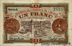 1 Franc FRANCE régionalisme et divers CAHORS 1919 JP.035.24 TB