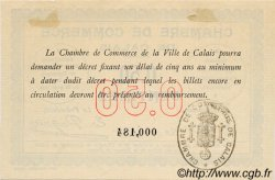50 Centimes FRANCE régionalisme et divers Calais 1914 JP.036.01 SPL à NEUF
