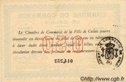 50 Centimes FRANCE régionalisme et divers CALAIS 1914 JP.036.01 TTB à SUP